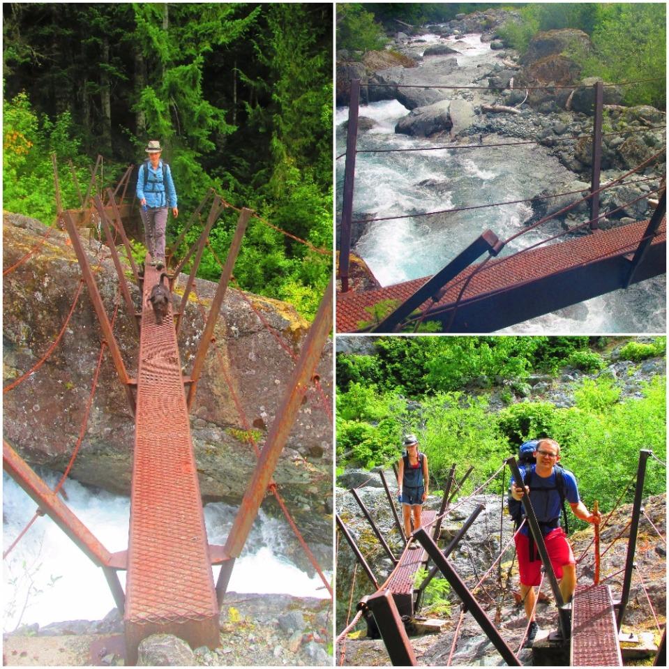Footbridges Della Falls Hike