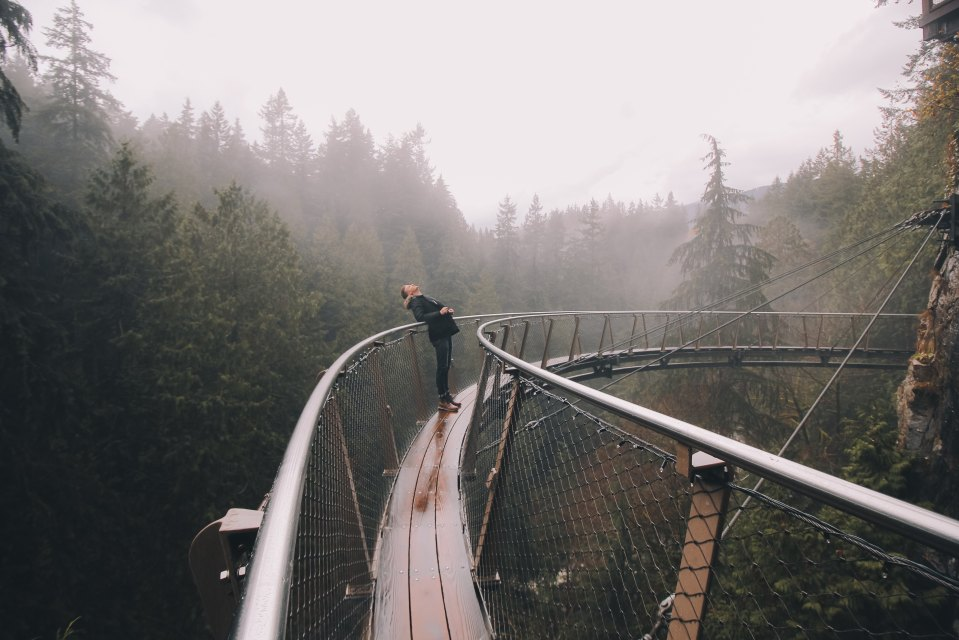 Walk on a Vancouver Suspension Bridge
